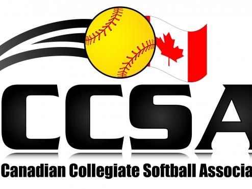 Canadian Collegiate Softball Association logo